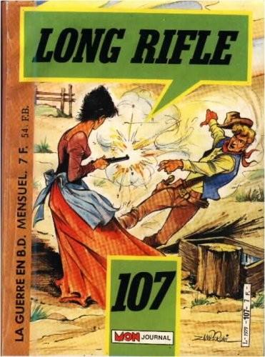 Couverture de Long Rifle -107- Le royaume des perdus