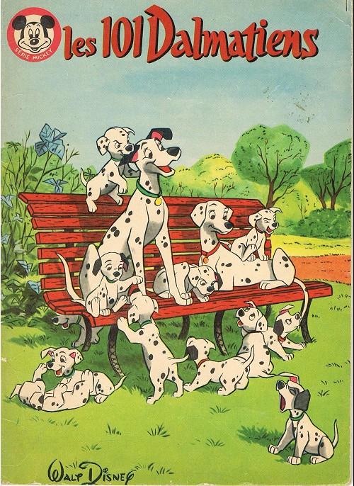 Couverture de Votre série Mickey (2e série) - Albums Filmés ODEJ -18- Les 101 dalmatiens
