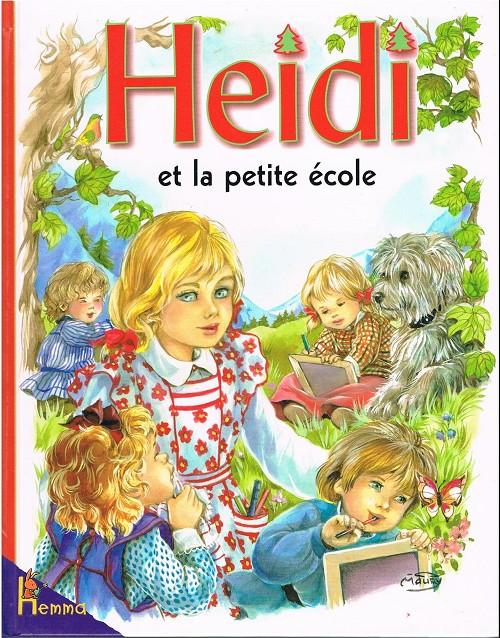 Couverture de Heidi (Maury) -21- Heidi et la petite école