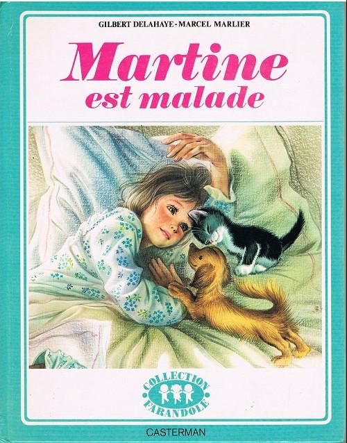 Couverture de Martine -26- Martine est malade