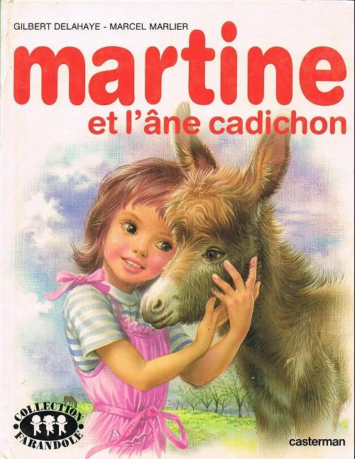 Couverture de Martine -31- Martine et l'âne cadichon
