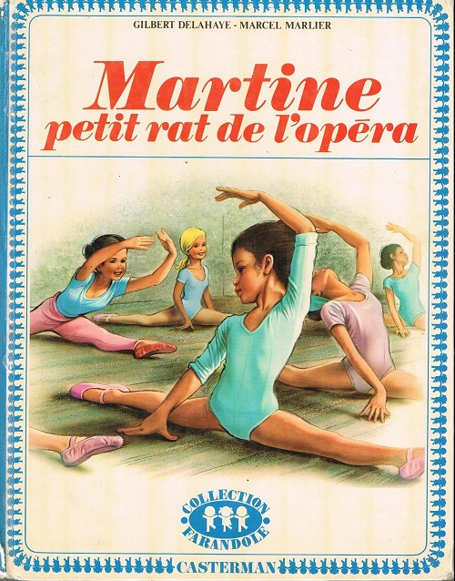 Couverture de Martine -22- Martine petit rat de l'opéra