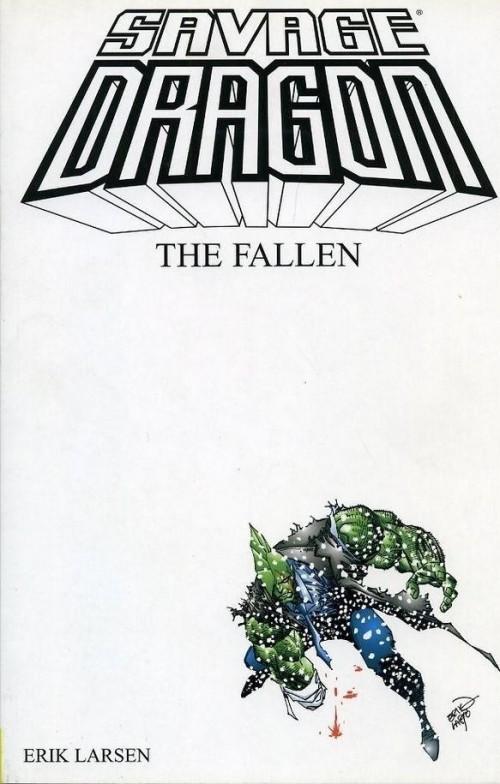 Couverture de Savage Dragon Vol.2 (The) (Image comics - 1993) -INT03- The Fallen