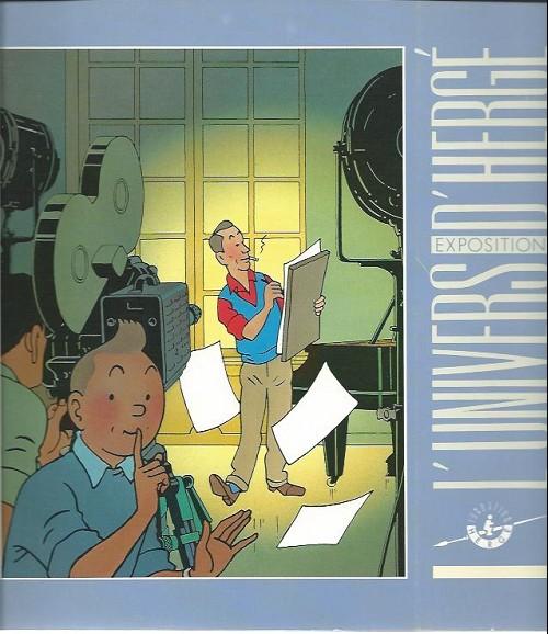 Couverture de (AUT) Hergé -165Cat- L'univers d'Hergé - Exposition