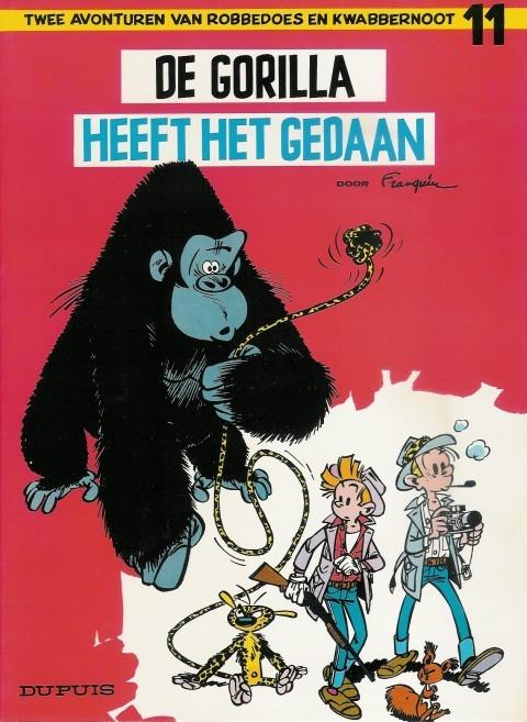 Couverture de Robbedoes en Kwabbernoot -11- De gorilla heeft het gedaan