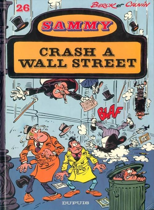 Couverture de Sammy -26- Crash à Wall Street