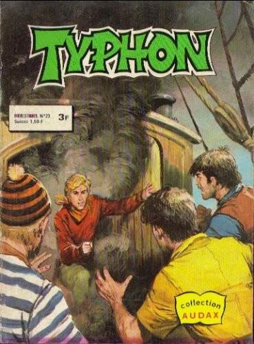 Couverture de Typhon -23- Alan Calvert contre les pirates