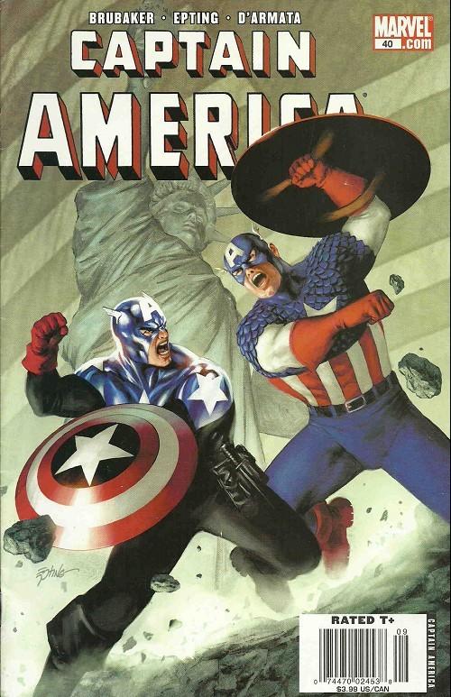 Couverture de Captain America (2005) -40- The Death of Captain America Act 3, the Man Who Bought America: Part Four