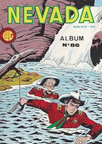Couverture de Nevada (LUG) -Rec86- Album N°86 (du n°455 au n°457)
