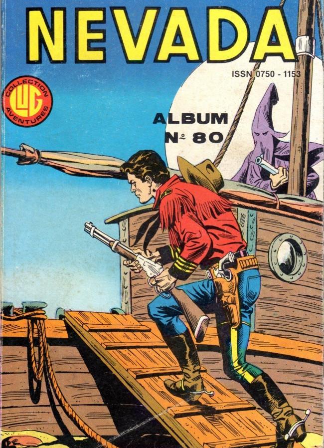 Couverture de Nevada (LUG) -Rec80- Album N°80 (du n°437 au n°439)