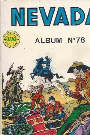 Couverture de Nevada (LUG) -Rec78- Album N°78 (du n°431 au n°433)
