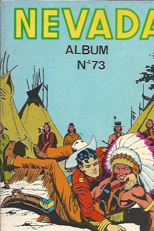Couverture de Nevada (LUG) -Rec73- Album N°73 (du n°416 au n°418)