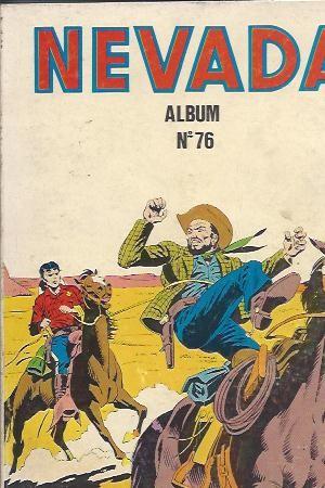 Couverture de Nevada (LUG) -Rec76- Album N°76 (du n°425 au n°427)