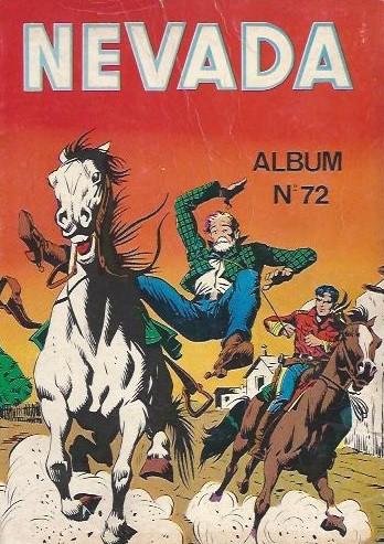 Couverture de Nevada (LUG) -Rec72- Album N°72 (du n°413 au n°415)