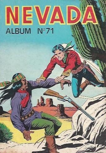 Couverture de Nevada (LUG) -Rec71- Album N°71 (du n°410 au n°412)