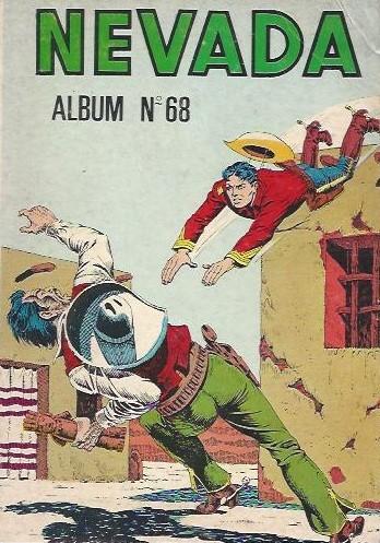 Couverture de Nevada (LUG) -Rec68- Album N°68 (du n°401 au n°403)