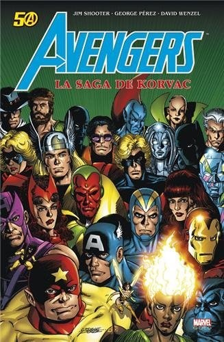 Couverture de Marvel Gold -7- Avengers : la saga de Korvac
