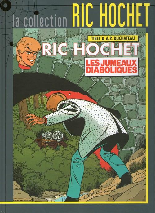 Couverture de Ric Hochet - La collection (Hachette) -47- Les jumeaux diaboliques
