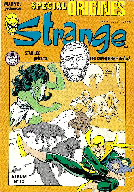 Couverture de Strange (Spécial Origines) -Rec13- Album N°13