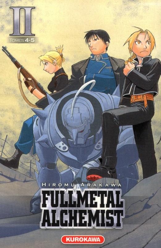 Couverture de FullMetal Alchemist -INT02- Volume II - Tomes 4-5