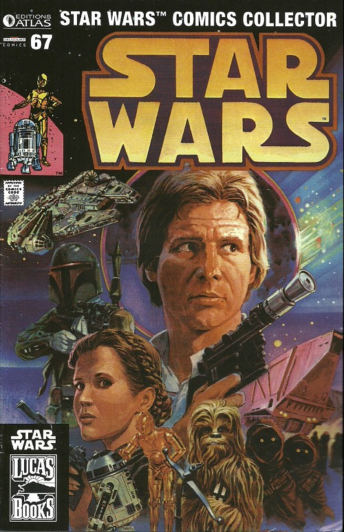 Couverture de Star Wars (Comics Collector) -67- Numéro 67