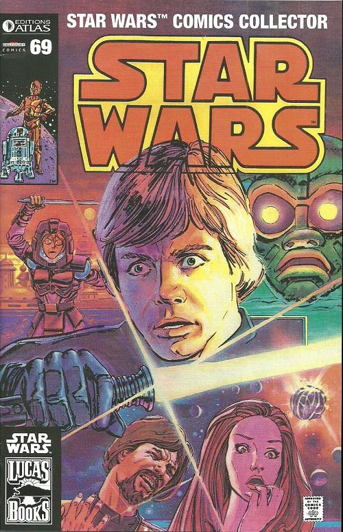 Couverture de Star Wars (Comics Collector) -69- Numéro 69