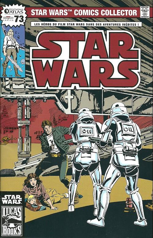 Couverture de Star Wars (Comics Collector) -73- Numéro 73