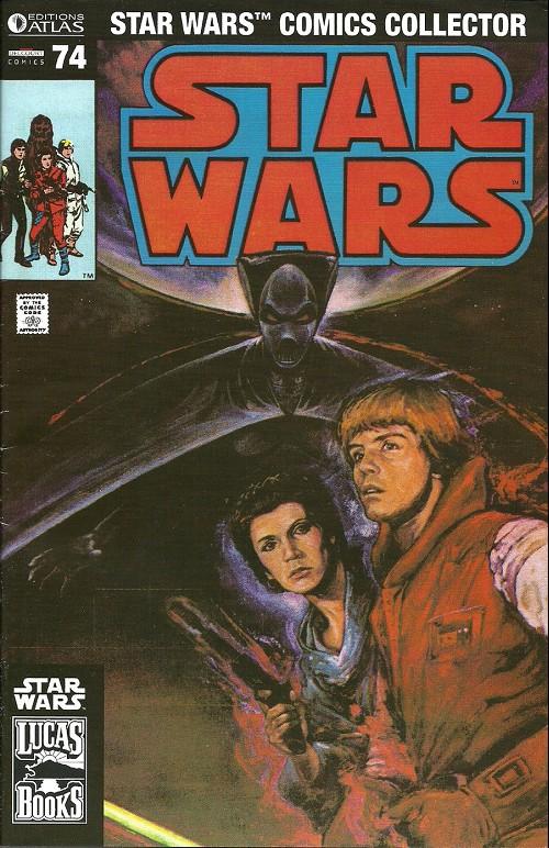 Couverture de Star Wars (Comics Collector) -74- Numéro 74