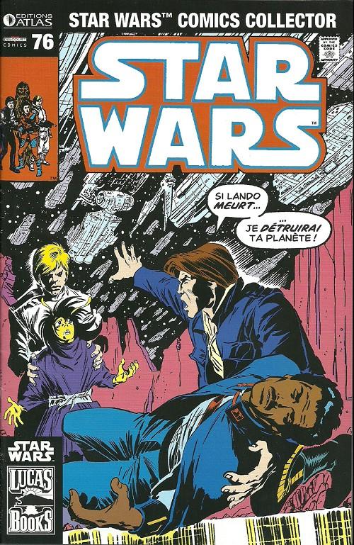 Couverture de Star Wars (Comics Collector) -76- Numéro 76