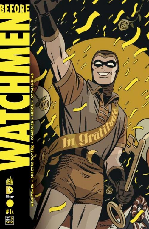Couverture de Before Watchmen -1- Volume 1