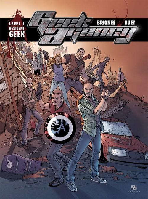 Couverture de Geek agency -1- Resident Geek