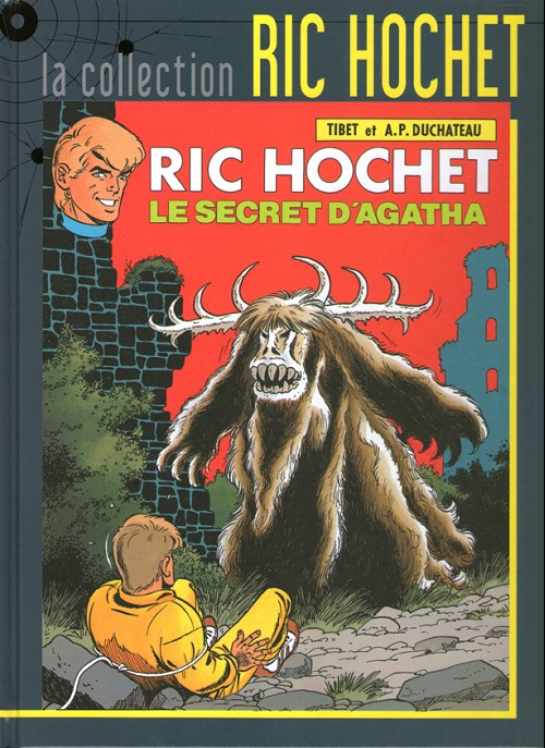 Couverture de Ric Hochet - La collection (Hachette) -48- Le secret d'Agatha