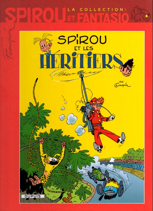 Couverture de Spirou et Fantasio - La collection (Cobra) -1- Spirou et les héritiers