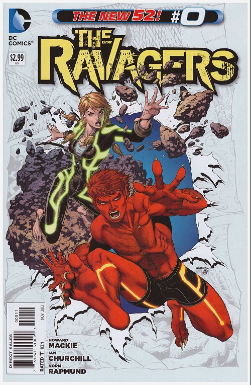 Couverture de Ravagers (The) (2012) -0- Day one