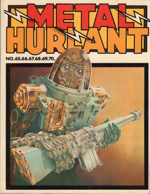 Couverture de (Recueil) Métal Hurlant -14- Recueil Métal Hurlant n°65 à 70