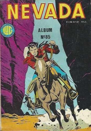 Couverture de Nevada (LUG) -REC85- Album N°85 (du n°452 au n°454)