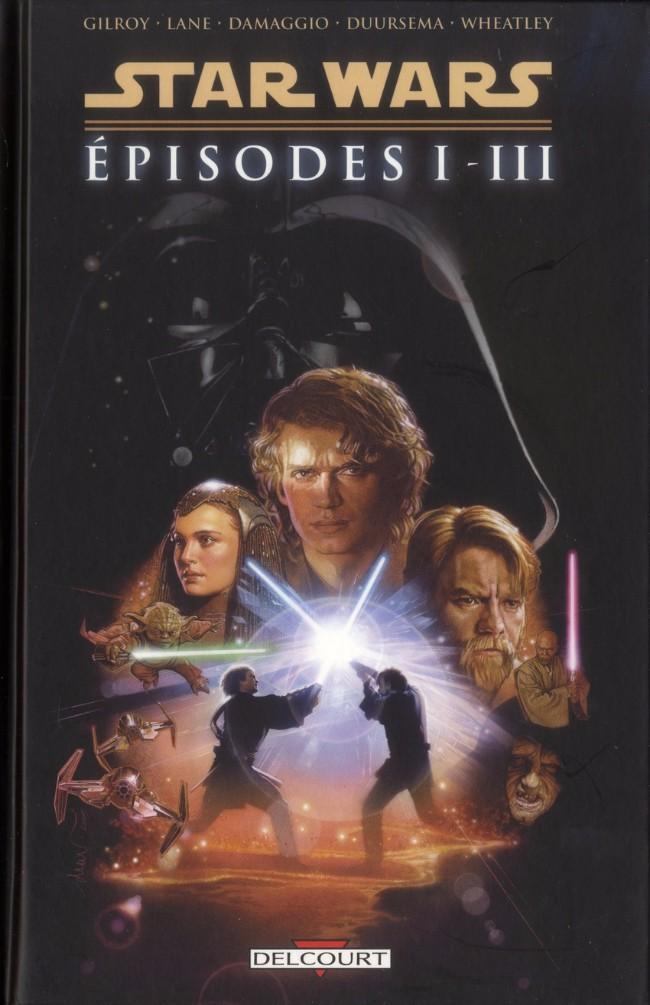 Couverture de Star Wars -INT1- Intégrale - Épisodes I à III