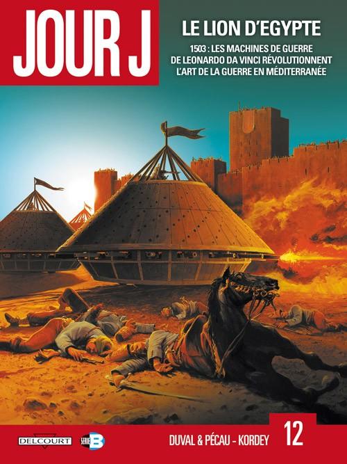 Couverture de Jour J -12- Le lion d'Égypte