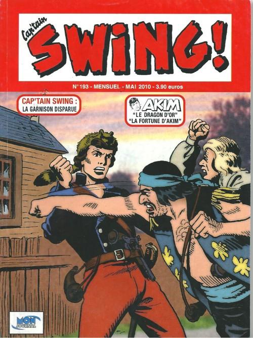 Couverture de Capt'ain Swing! (2e série - Mon Journal) -193- La Garnison disparue
