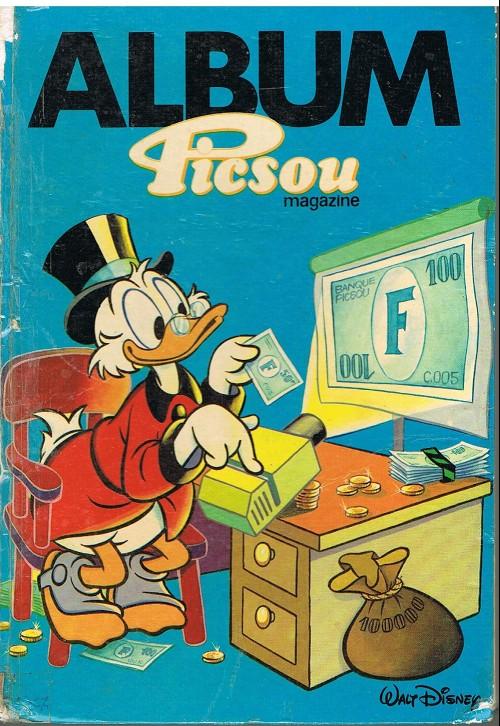 Couverture de Picsou Magazine -Rec O- (1re série) recueil O (n° 148 à n° 151)