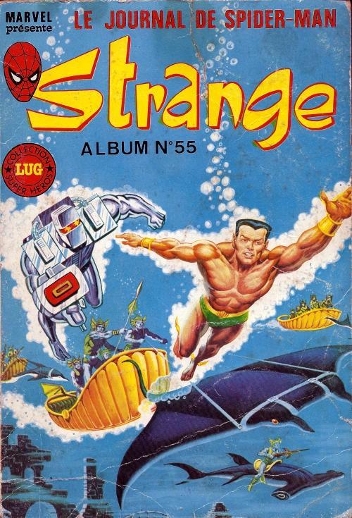 Couverture de Strange -Rec055- Album N°55 (du n°164 au n°166)
