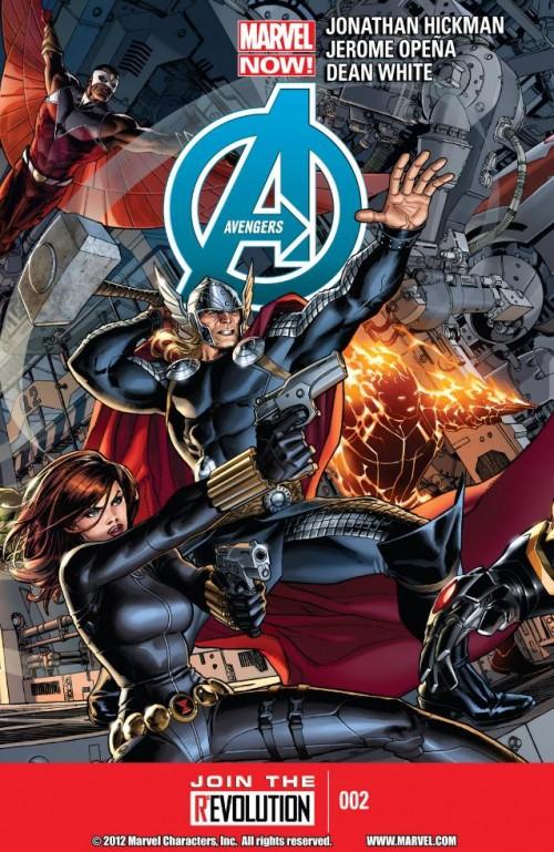 Couverture de Avengers Vol.5 (Marvel comics - 2013) -2- We Were Avengers