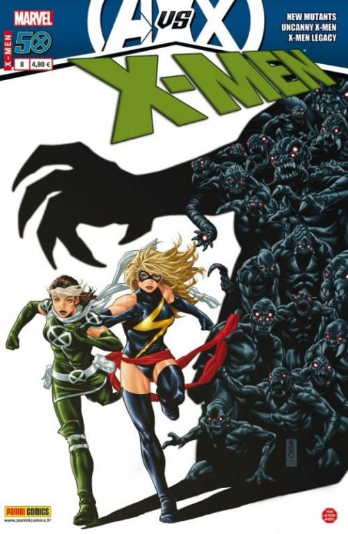 Couverture de X-Men (Marvel France 3e série - 2012) -8- Affronter l'avenir
