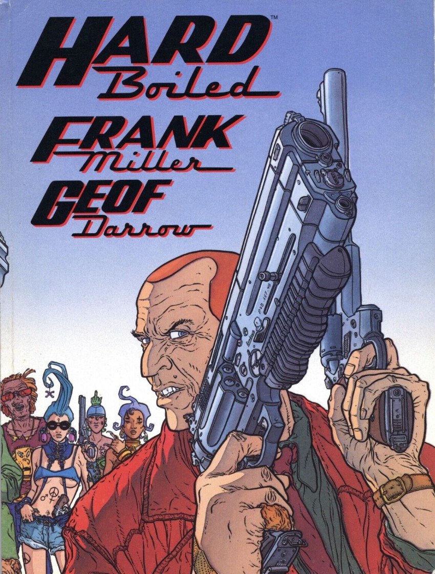 Couverture de Hard Boiled (1990) -TPB- Hard boiled