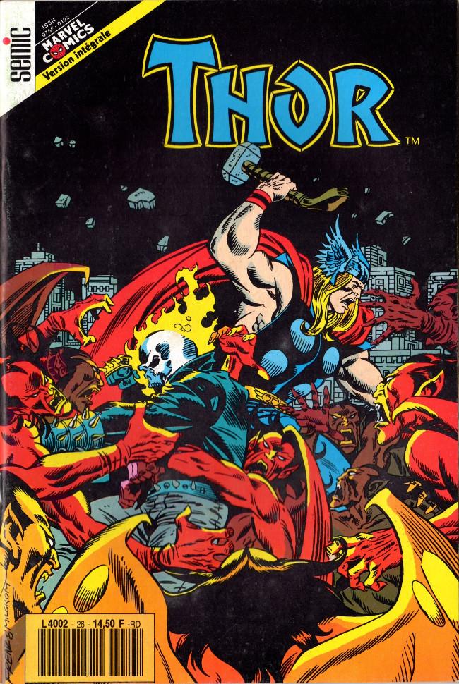 Couverture de Thor (3e Série - Lug/Semic) -26- Thor 26