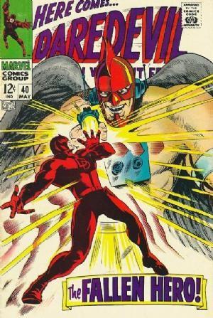 Couverture de Daredevil (1964) -40- The fallen hero