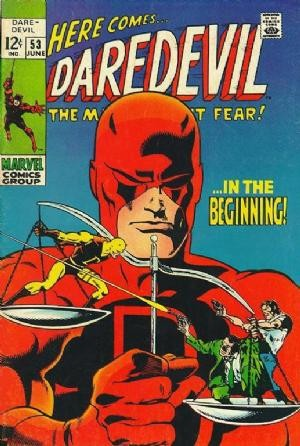 Couverture de Daredevil Vol. 1 (Marvel - 1964) -53- As it was in the beginning