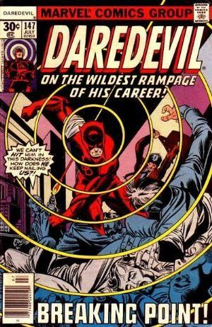 Couverture de Daredevil Vol. 1 (Marvel - 1964) -147- Breaking point!
