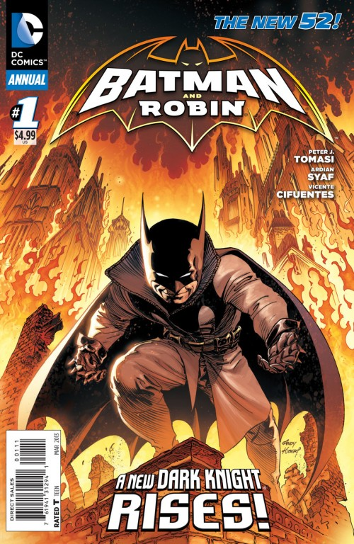 Couverture de Batman and Robin (2011) -AN01- Batman Impossible