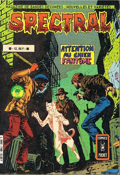 Couverture de Spectral (2e série) -Rec10- Attention au chien fantôme / Le gladiateur fantôme
